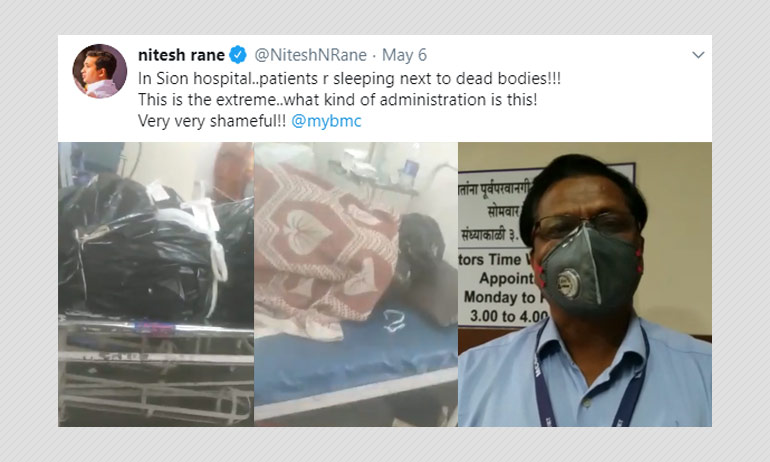Video Of Bodies Next To COVID-19 Patients In Mumbai To Be Investigated