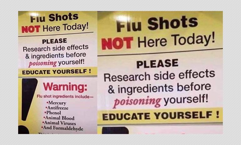 Flu shot and coronavirus