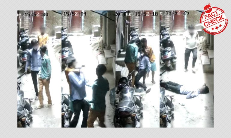 Video Of Robbery Shared As Migrants Attacking For Money In Delhi