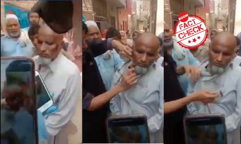 Video Of Child Molester Publicly Shamed In Pakistan Viral In India
