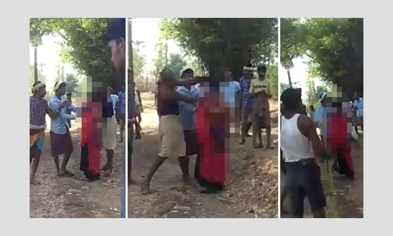 Gujarat: Minor Girl Publicly Thrashed For Eloping, Video Goes Viral