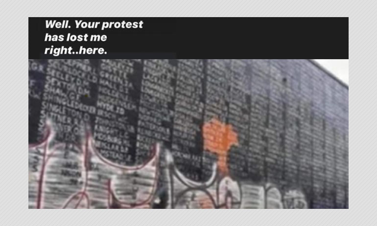No Vietnam Memorial Was Not Vandalized During George Floyd Protests