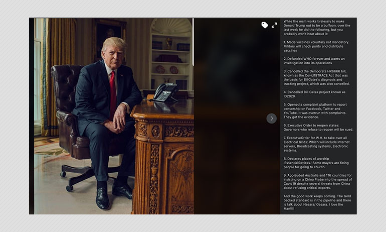 Misleading List Of Donald Trumps Achievements Viral On Social Media