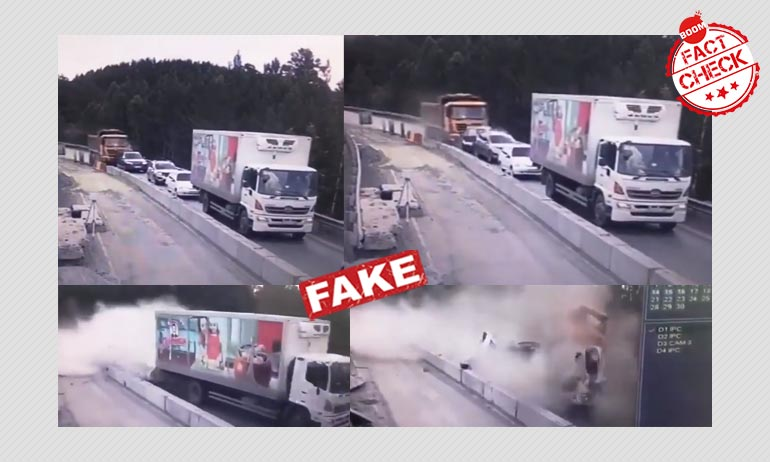 Video Of Fatal Truck Crash In Russia Falsely Shared As Bengaluru