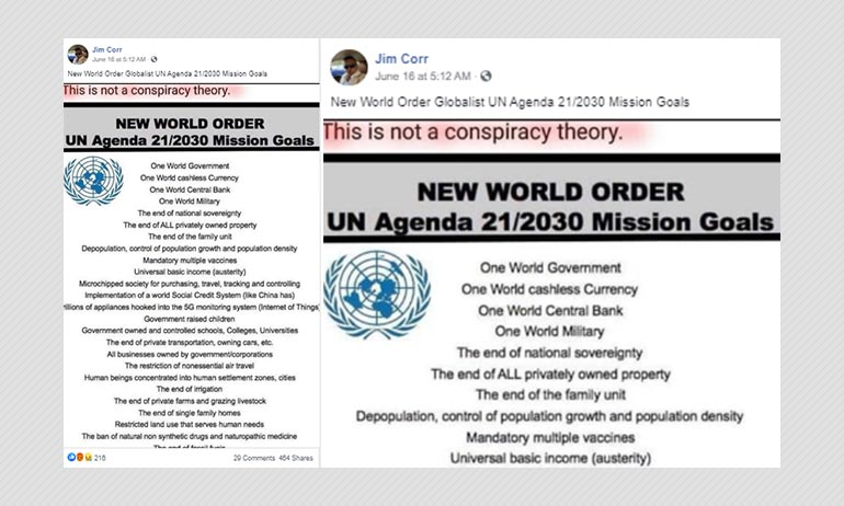 Is Establishing A One World Government A Part Of UNs mission goals?