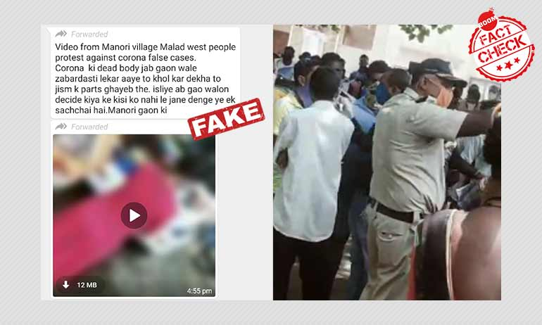 Video Of Crowd Protesting Institutional Quarantine Shared As Organ Racket