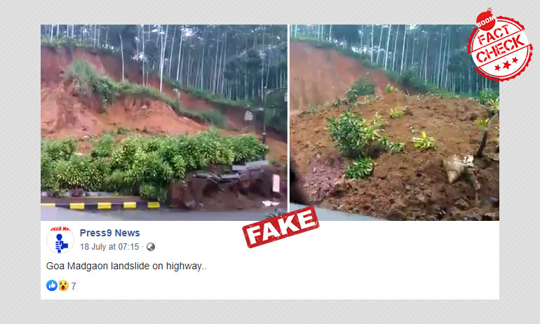 Video Of Landslide In Indonesia Shared As Goa