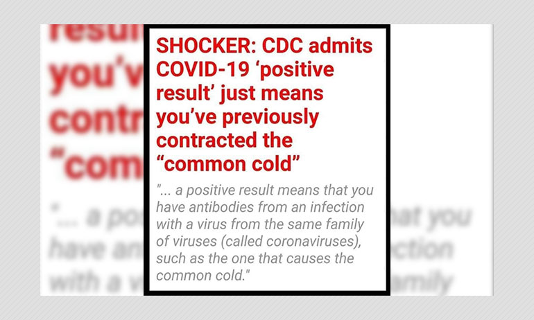 Viral Posts Share False Claims About COVID-19 Test Results