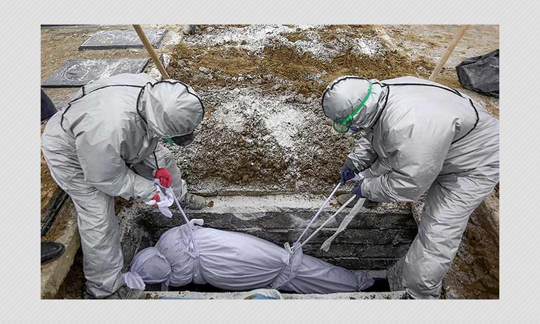 COVID-19 Positive Corpses Are Not 100 Times More Toxic After 72 Hours