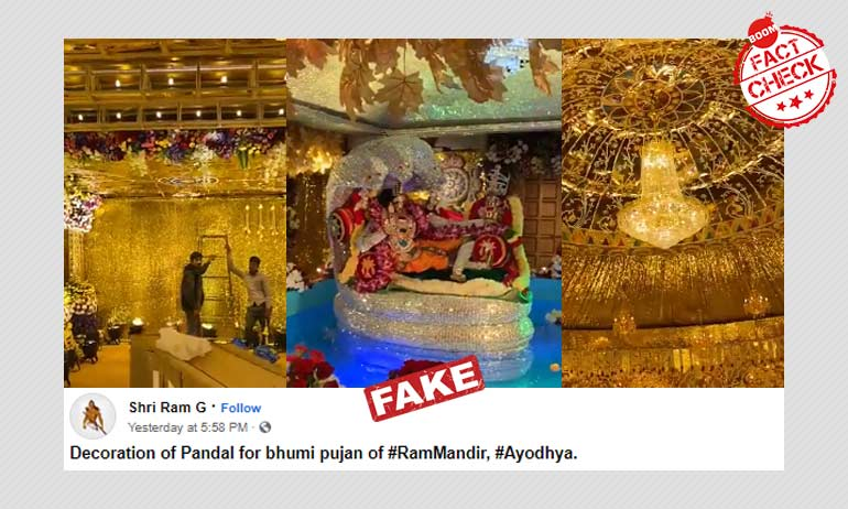 Video From Hyderabad Temple Viral With Ram Mandir Bhumi Pujan Twist