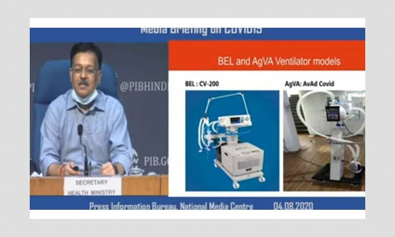 AgVa Ventilators Returned By Mumbai Hospitals Not Under PM Cares Fund: MoHFW