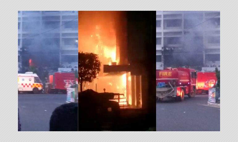 Fire At Coronavirus Facility In Vijayawada Hotel Claims 10 Lives
