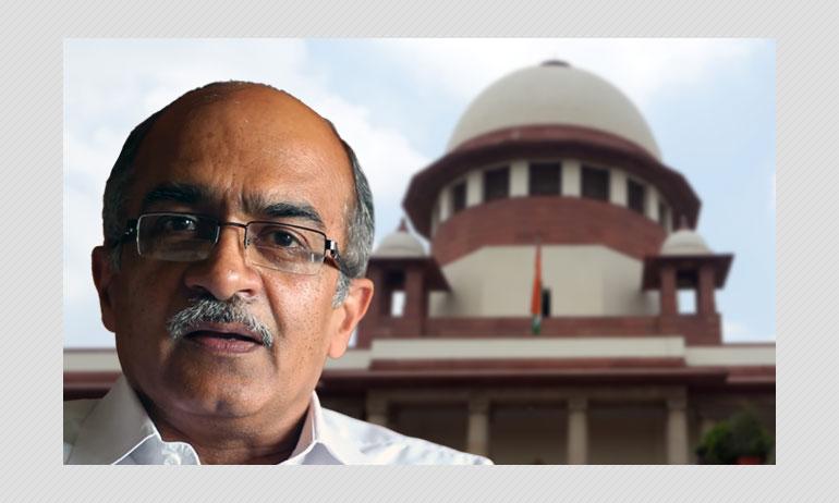 SC Fines Prashant Bhushant ₹1 For Contempt Of Court