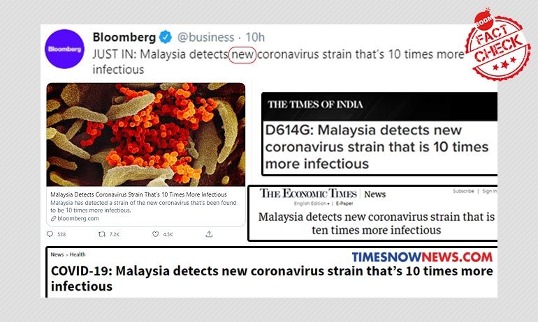 New COVID-19 Strain Detected In Malaysia? Not Quite