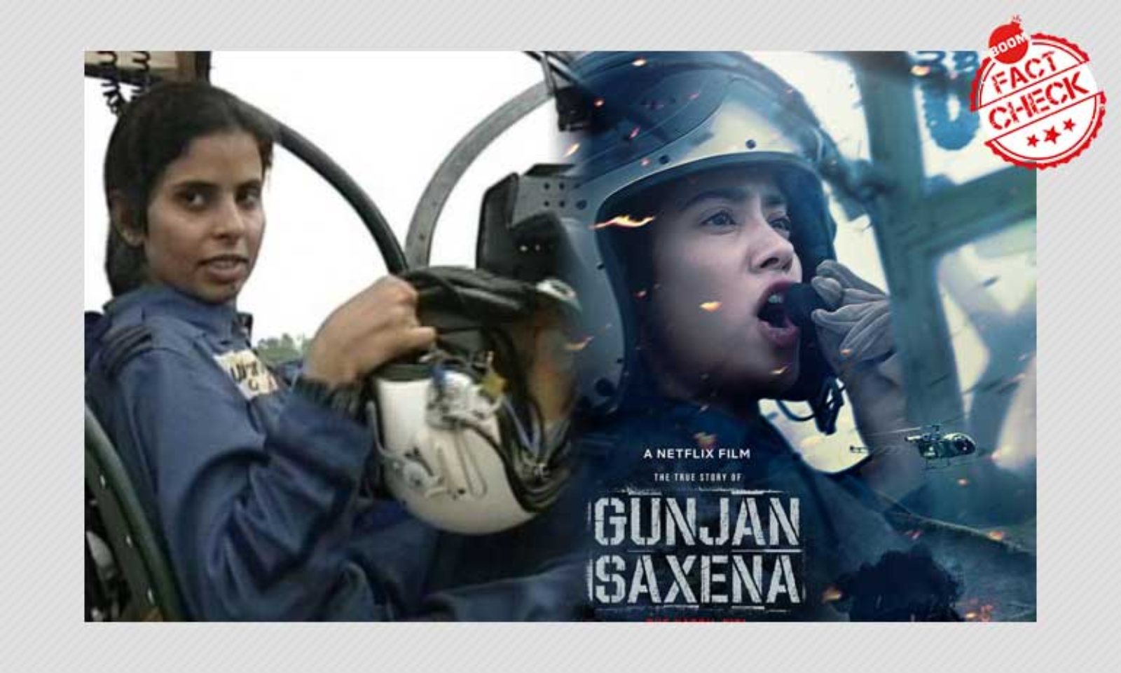 Gunjan Saxena The Kargil Girl Claims And Counter Claims What We Know