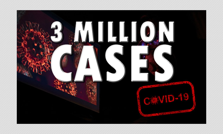 COVID-19: India Crosses 3 Million Cases; New Million Reached In 16 Days