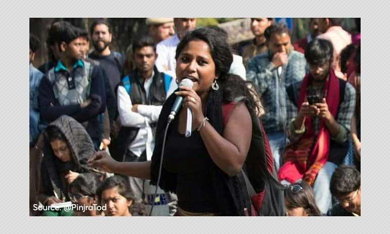 Delhi HC Grants Bail to Pinjra Tod Activist Devangana Kalita