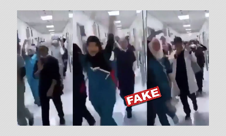 Video From Saudi Arabia Shared As Russian Doctors Celebrating COVID-19 Vaccine