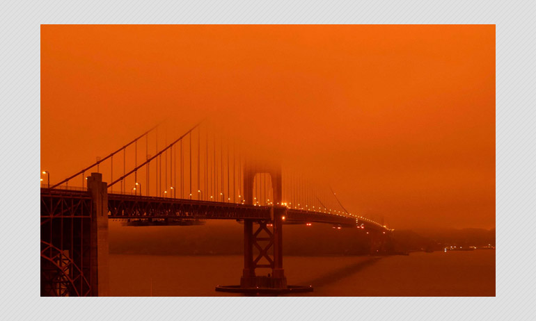 California Wildfires, Smoke Filled Skies And An Apocalyptic Scene