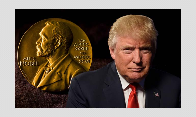 Donald Trump Nobel Peace Prize Nomination: All You Need To Know