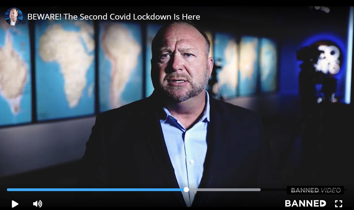 Alex Jones' Hoax Pandemic Conspiracy Video Viral Despite Facebook Ban