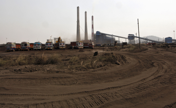 A view of the Jindal Power and Steel Ltd. complex in Orissa. Twelve years after announcing the project, Jindal Power and Steel is still waiting to start digging for coal. (Source: REUTERS/Rupak De Chowdhuri)