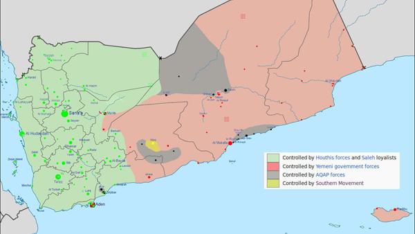 Yemen Main Map