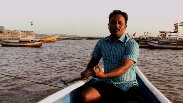 Ganesh Koli a resident of Bhatti Village in Madh Island, Mumbai.