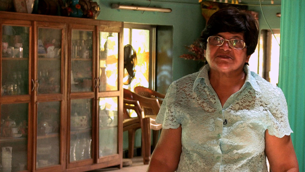 Maggie D'Mello belongs to the oldest family in Marol village and has seen the bungalows shrink from 80 to 20.