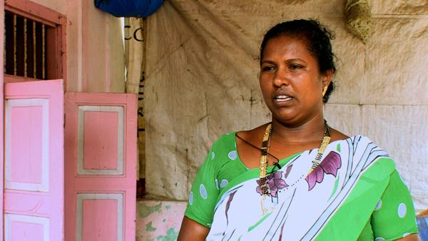 Rikshila Manaji, a resident of Gorai.
