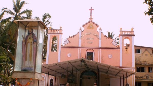 Holy Magi Church in Gorai, Mumbai.