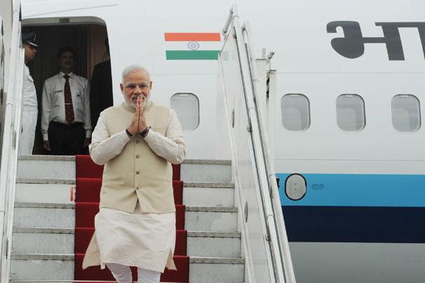 Narendra Modi Plane