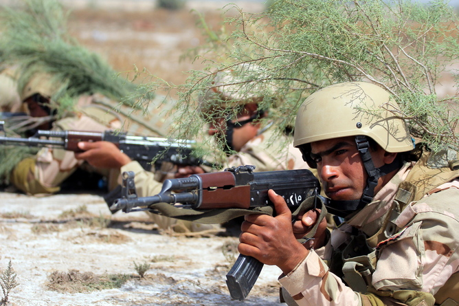 Iraqi army continues offensive in western Anbar province