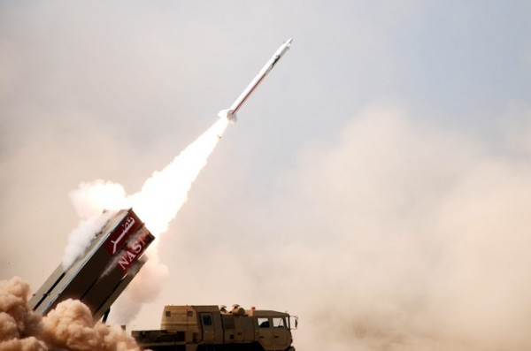 A nuclear-capable Pakistani missile during testing in 2011. The international community hopes other aspiring nuclear nations can develop nuclear power without the military muscle. (Source: EPA/INTER)