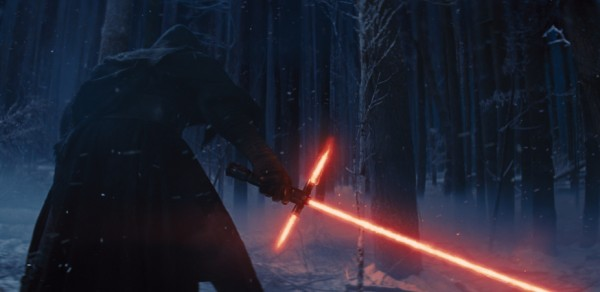 A still from the second teaser for The Force Awakens.