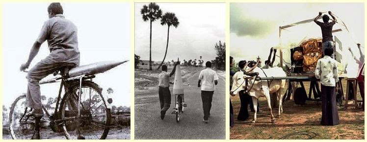 The humble beginning of ISRO. (Source: Indian Defence News)
