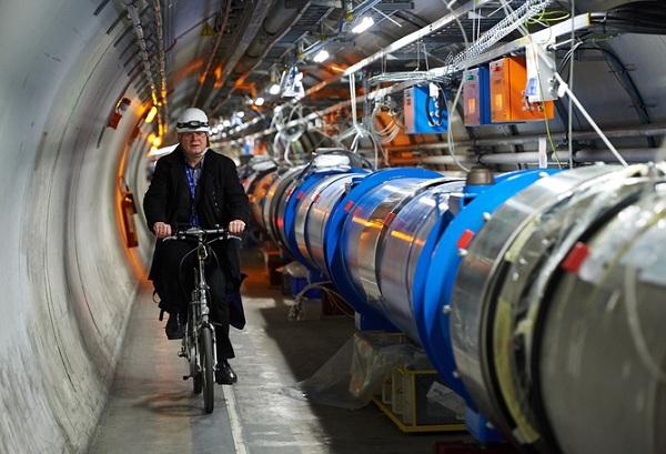 CERN Large Hadron Collider restart