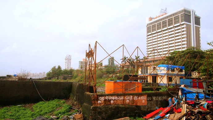 The Sea Rock structure was demolished in 2010.