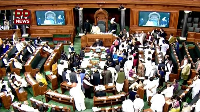 92 Hours Of Lok Sabha Disruption Cost India Rs 144 Crore