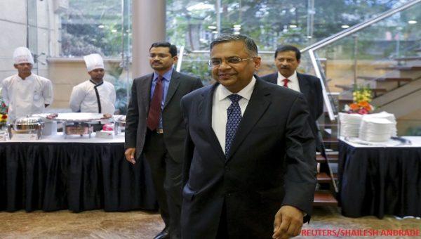 N Chandrasekaran, CEO, TCS