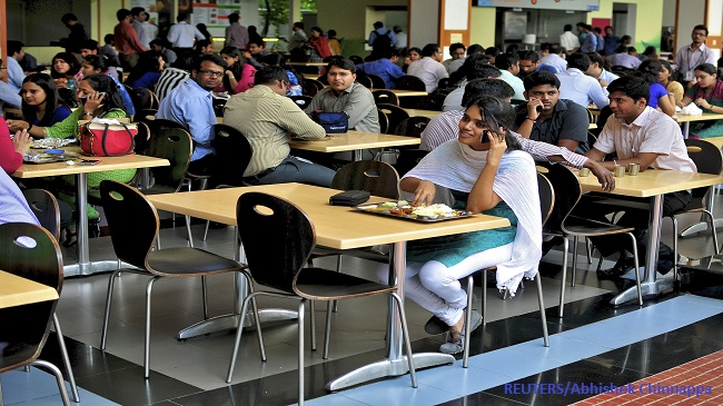 Infosys Office Cafeteria
