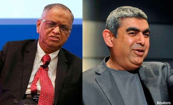 Murthy Vs. Sikka Row : Infosys Board Addresses The Media