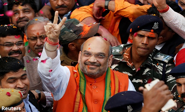 LIVE: BJP Sweeps UP, Uttarakhand; Congress Returns In Punjab