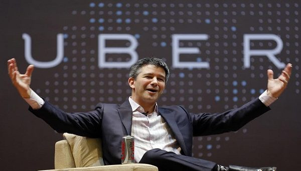 Uber's Latest PR Crisis; Video Of Kalanick Arguing With Driver Goes Viral