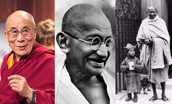 Fake News Police: Viral Photo Of Gandhi And Dalai Lama Is Fake