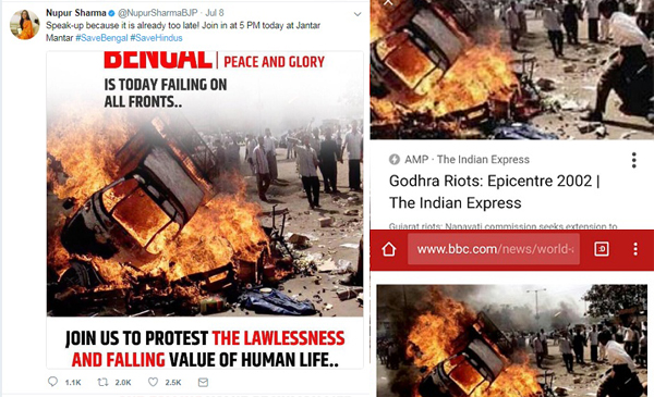 """2002 Gujarat Riots Image Used For 2017 'Save Bengal' Protest"" is locked 2002 Gujarat Riots Image Used For 2017 'Save Bengal' Protest"