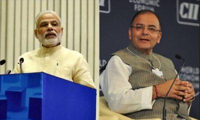 Narendra Modi & Arun Jaitley