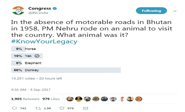 Congress Tweet