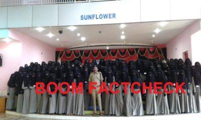 Burqa Women Police