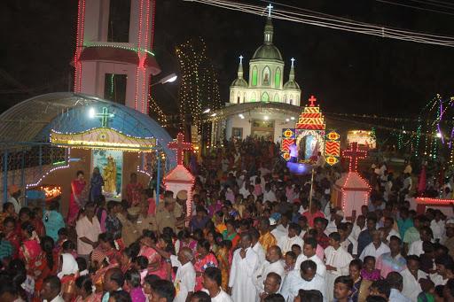 Christian church procession